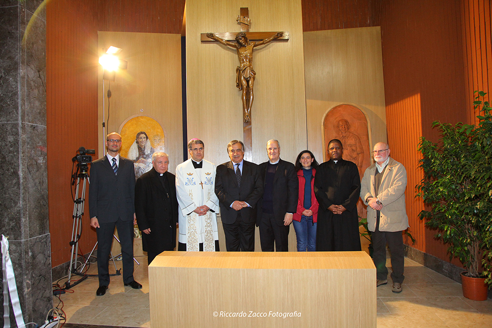 inaugurazione cappella della misericordia 2016